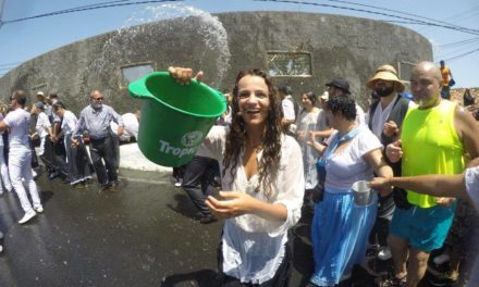 """Traida de Agua"" Vattenfesten i Lomo Magullo Telde 12 augusti"
