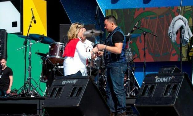 Skandalkonsert på karnevalsscenen i Las Palmas