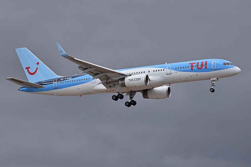 TUI storsatsar ökar med 2 miljoner flygstolar