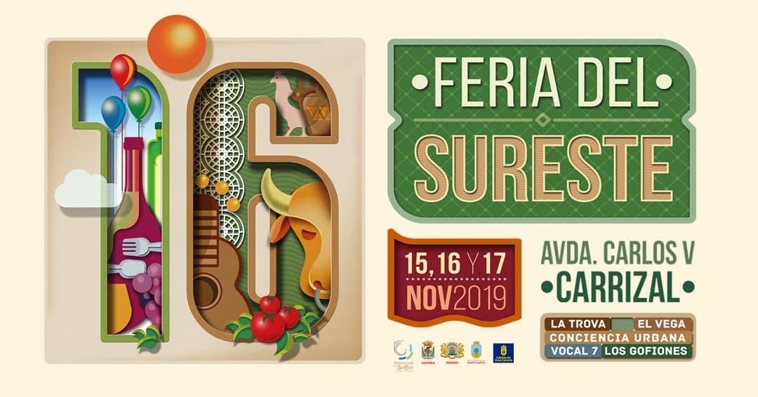 "Stor bondmarknad ""Feria del Sureste"" i Carrizal"