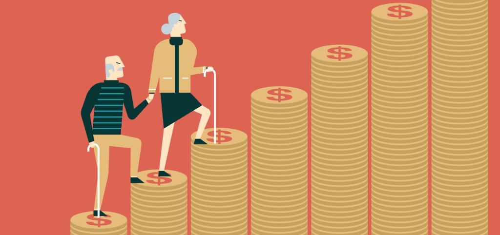 Den nya regeringen höjer pensionen med 0,9%