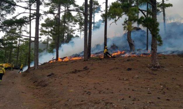 Branden i Tasarte under kontroll efter fyra dagar