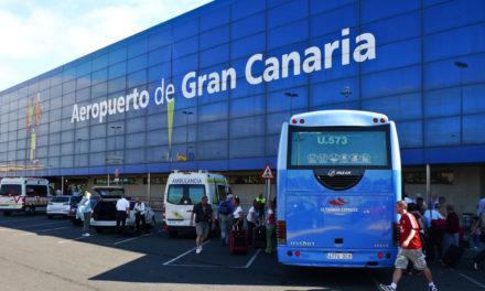 Flygplatserna på öarna drar ner till minimum trafik