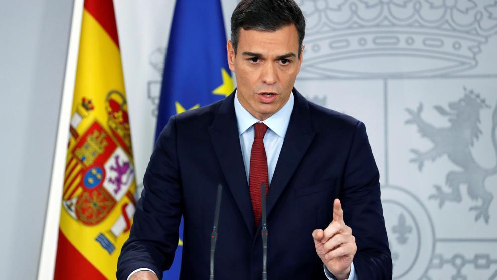 Spanien är satt i karantän