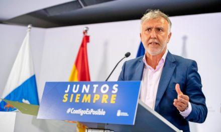 Kanarieöarnas president OROLIG…