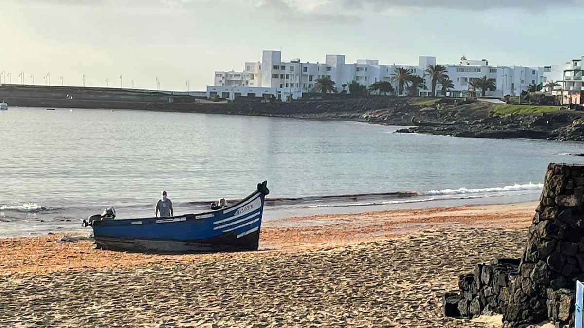 Patera på stranden