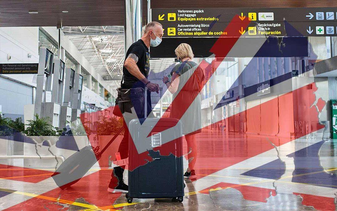 Brittisk turism dröjer…