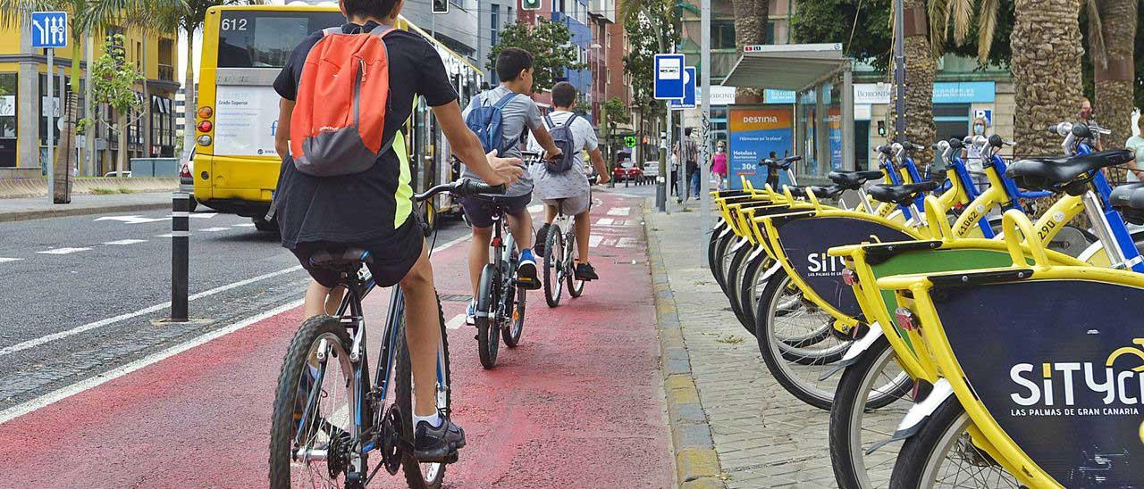 Cykel i Las Palmas