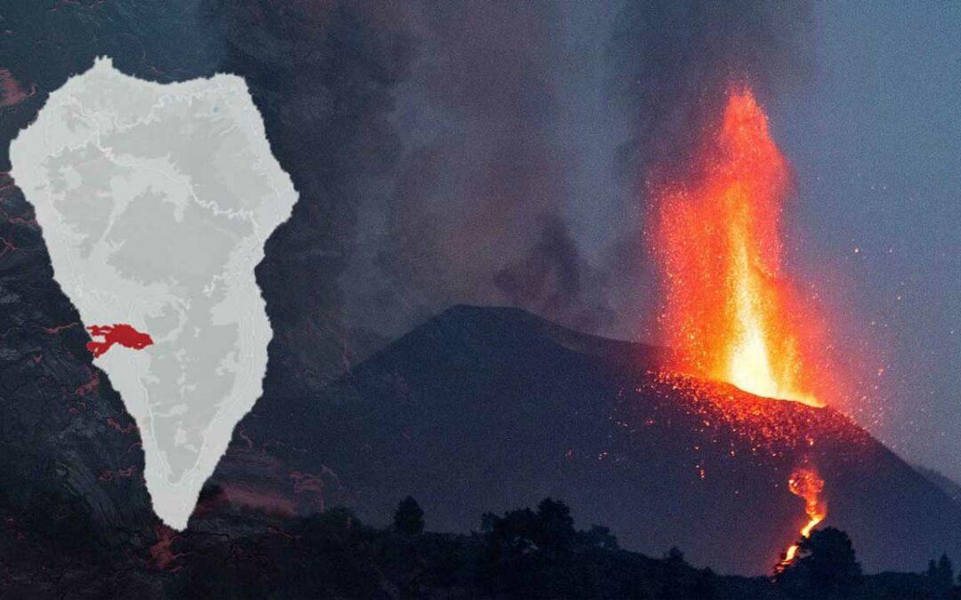 Vulkanutbrott under en månads tid…