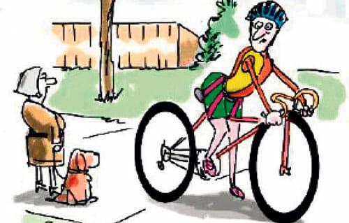 Mosjonister på ville veier