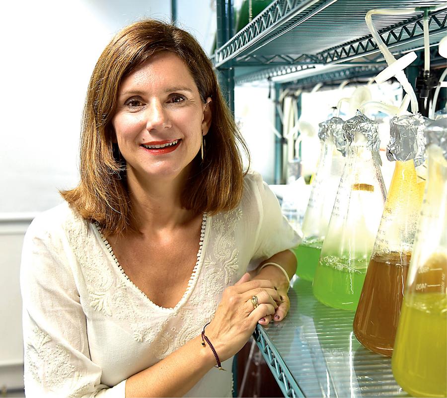 Møte med marinbiolog Corina Moya-Falcón