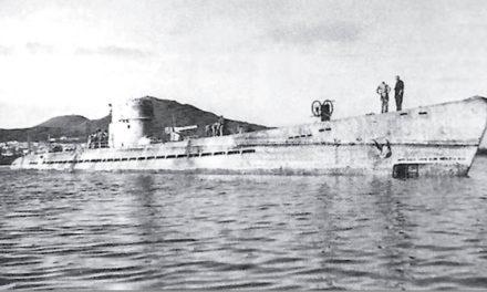 Da den tyske ubåten U-167 ble senket utenfor San Agustín