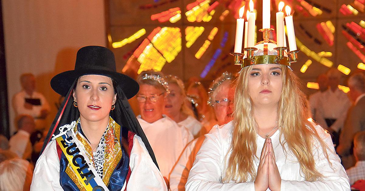 Santa Lucia – ET SVENSK – KANARISK MØTE PÅ GRAN CANARIA