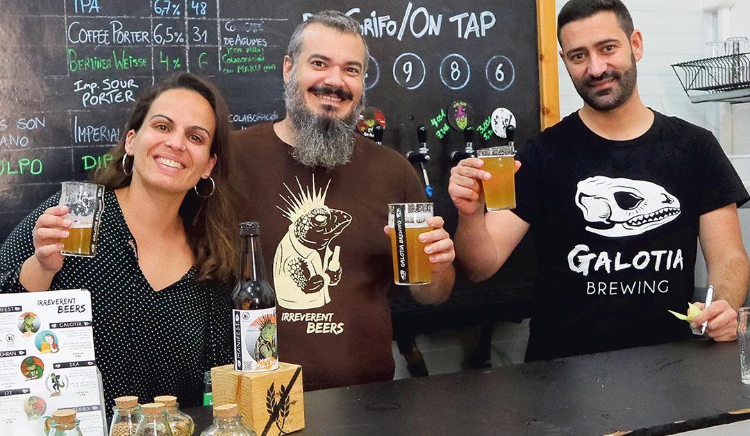 Galotia Brewing – ett microbryggeri på Gran Canaria med glutenfritt öl