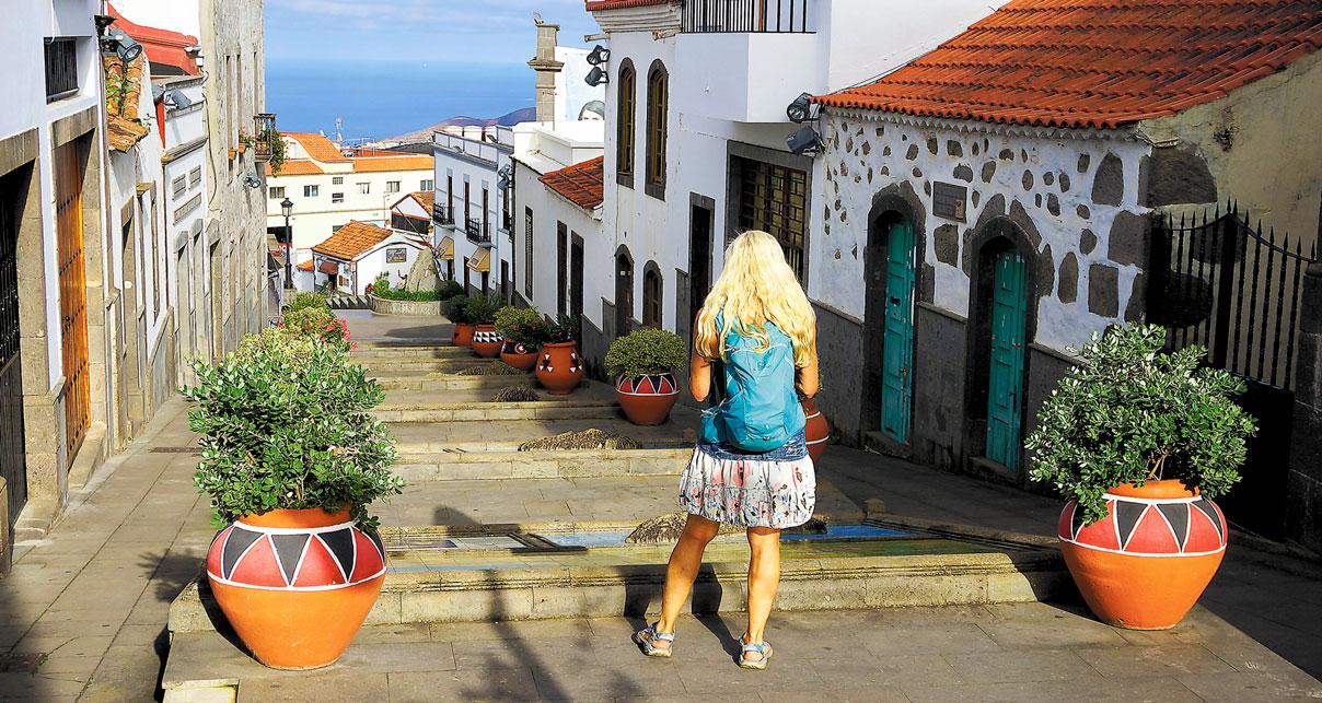 Barranco Azuaje – den villeste dalen på Gran Canaria