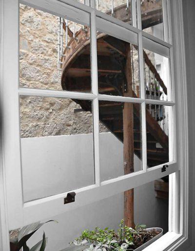 Trappor i fönster