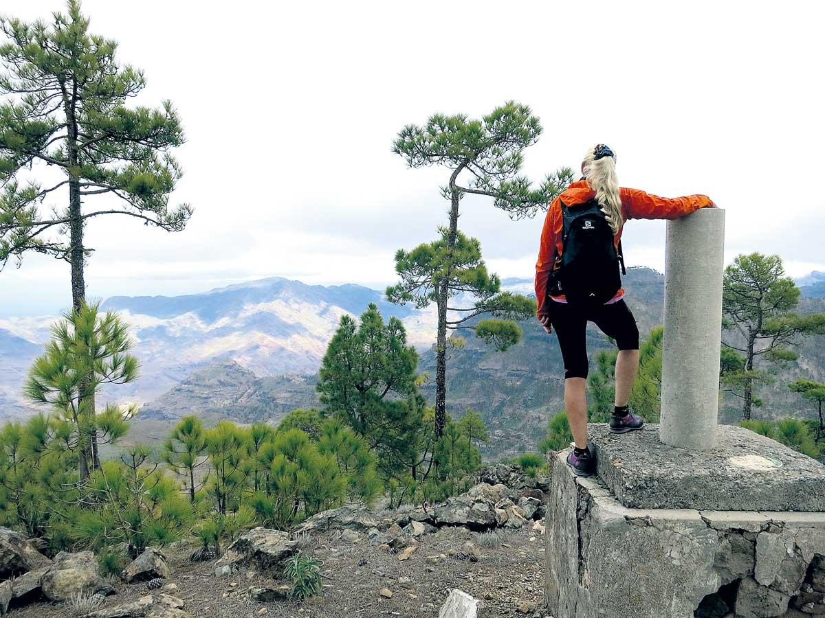 Fra toppen av Inagua