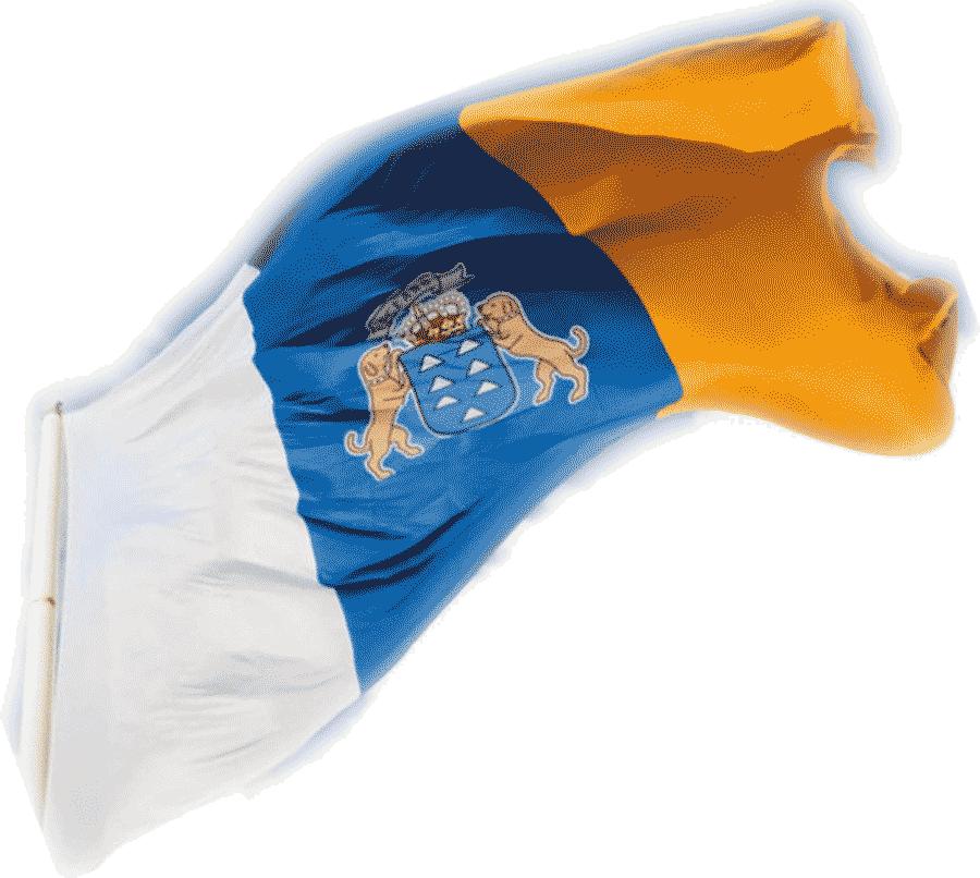 Kanarisk Flagga