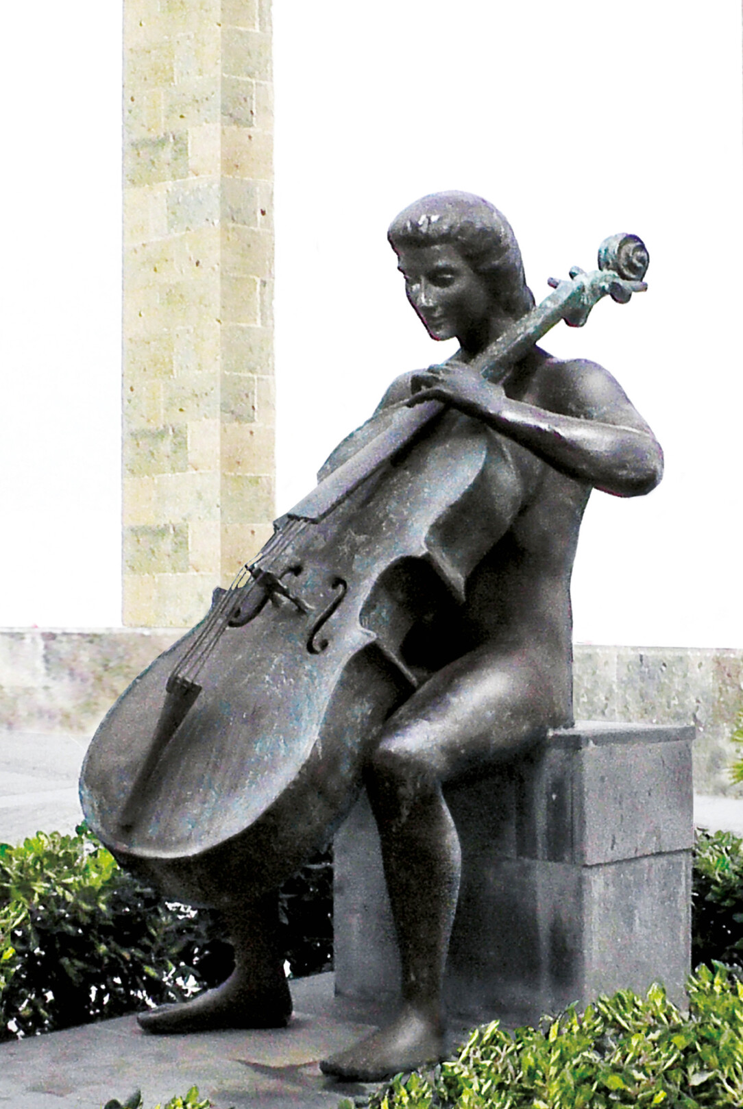Staty med vionchello