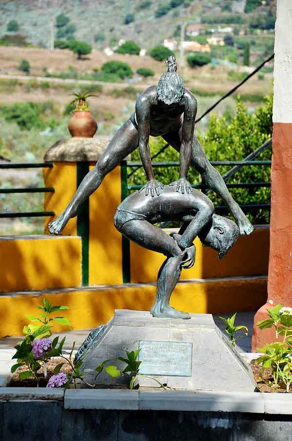 Staty hoppa bock
