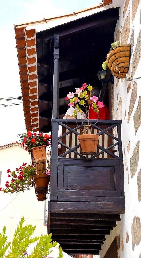 Kanarisk balkong