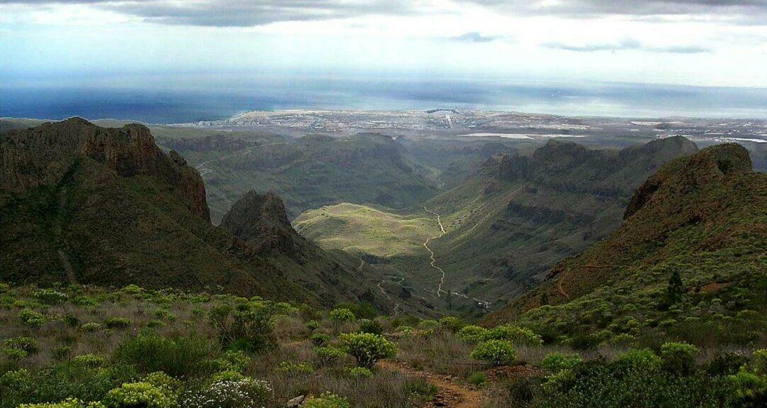 Pilegrimsvandring fra syd til nordpå Gran Canaria