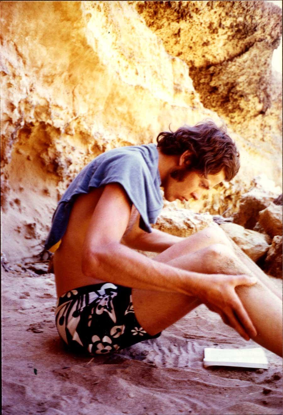 Göran Willis på Mallorca 1969